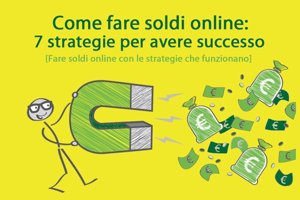 come fare soldi online