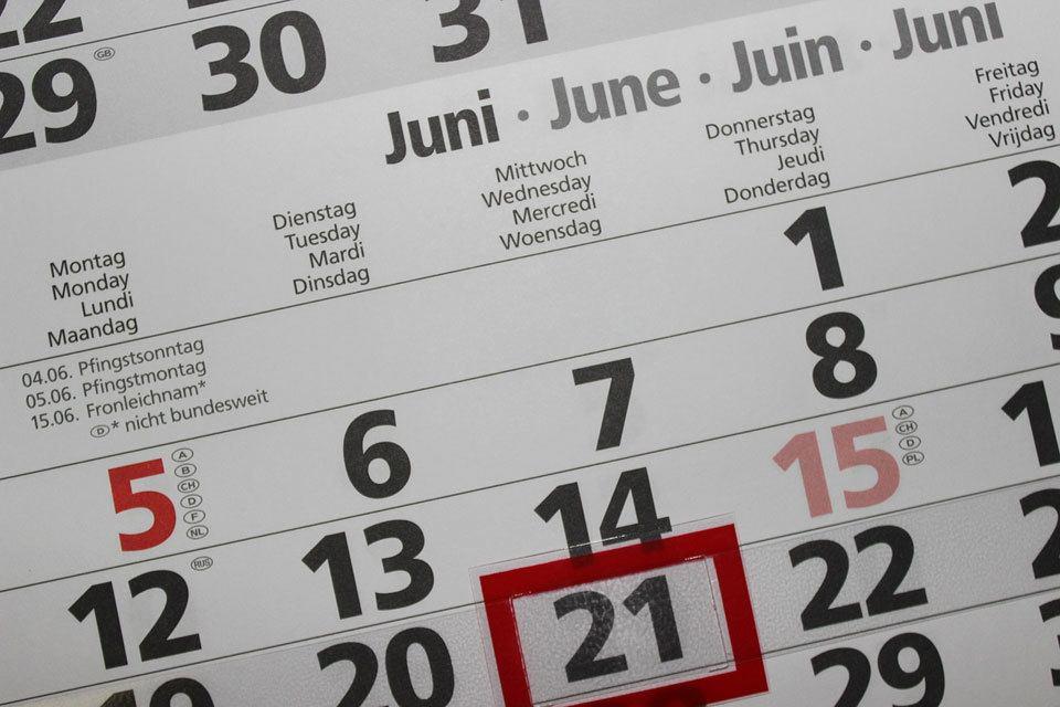 fare un planning mensile